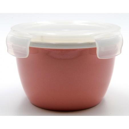 TUPPER PORCELANA 550 ml ROSA REDONDO